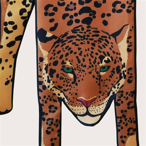 Square Segiempat Jaguar Silk small gold jaguar silk scarf cleo ferin mercury designer silk scarves