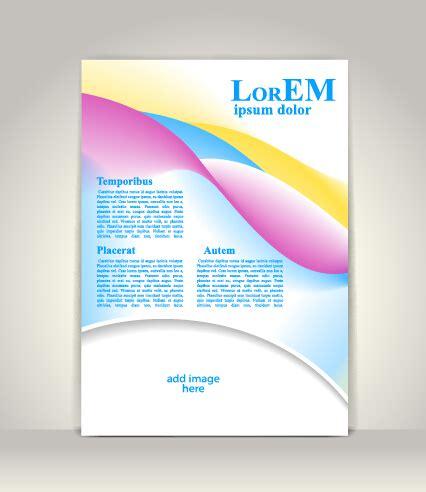 creative flyer design vector creative flyer and cover brochure design vector 04