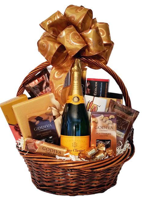 chocolate gift baskets chagne and chocolate wishes gift basket
