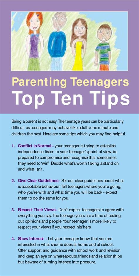 10 Tips For Time Parents by Teenagers Being A Parent And Raising On