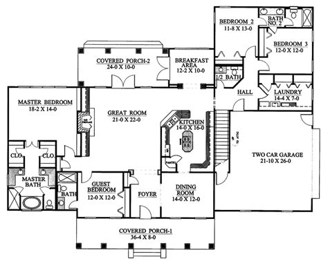 23 spectacular southern homes floor plans house plans