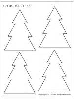christmas tree printable templates amp coloring pages firstpalette com