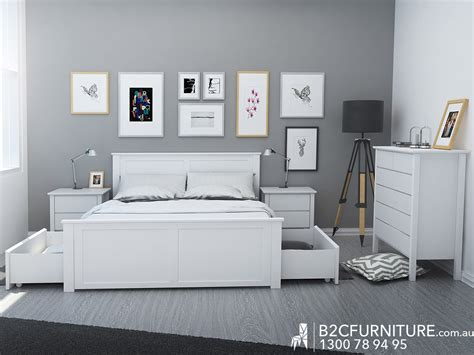 fantastic white king size bedroom suites with storage b2c furniture