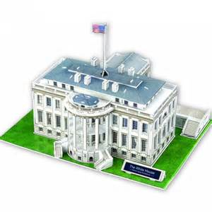 Buy House Plans Online 3d puzzle the white house