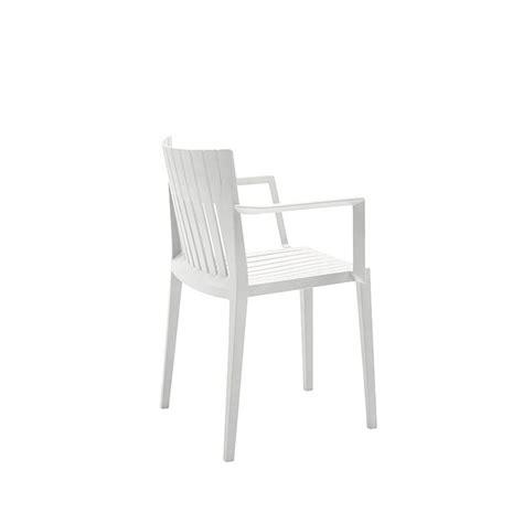 chaise exterieure spritz chaise de jardin 224 accoudoirs vondom empilable