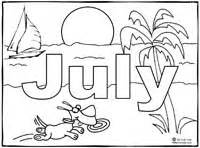 july coloring pages july coloring page sing laugh learn