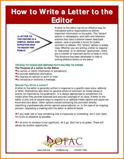 How To Make A Letter From Paper - pattern of letter to the editor letters free sle