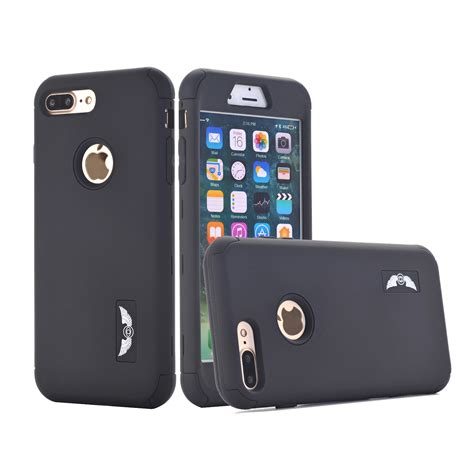 Iphone 8 Plus Hardcase protective hybrid rubber shockproof cover for apple iphone 8 6s 7 plus ebay