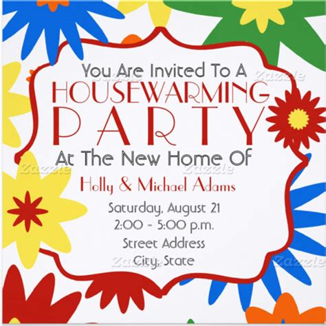 26 housewarming invitation templates free sle