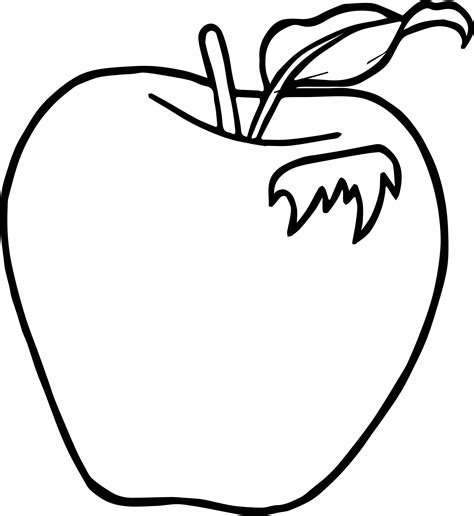 apple leaf coloring page leaf apple coloring page wecoloringpage
