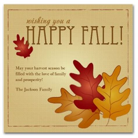 Fall Card Template by Printable Happy Fall Card Template