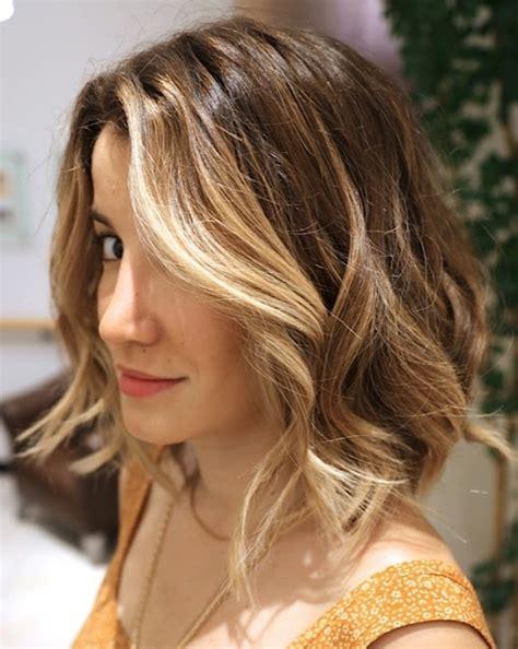 highlights for front sides only for dark brown hair valovita bob frizura frizure hr
