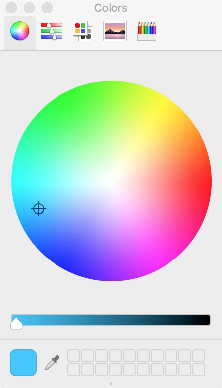 os x color picker how to add an image or color to a finder folder on mac