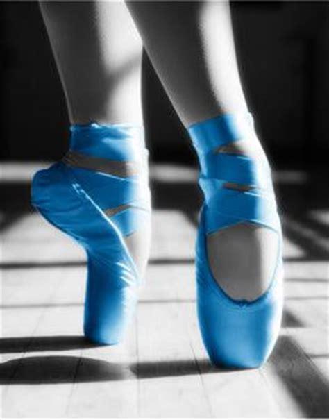 blue ballet shoes blue pointe shoes ballet pointe shoes