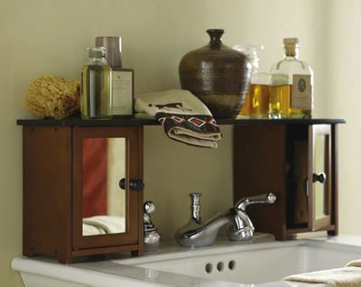 shelf over bathroom sink collections etc find unique online gifts at collectionsetc com