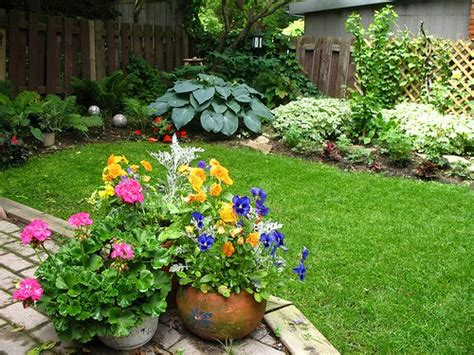 backyard flower gardens large and beautiful photos