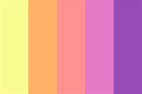 spring color palette spring pastel color palette