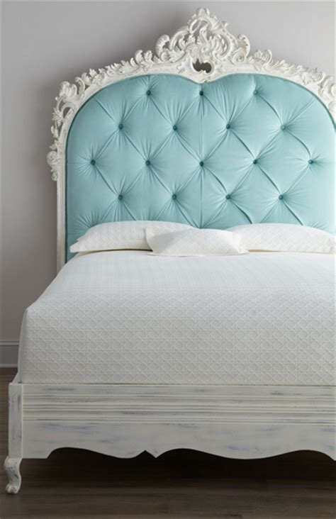 Light Blue Tufted Headboard by Beds And Headboards Everything Turquoise Page 2