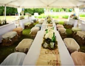 Where Can I Rent Tables And Chairs For Cheap Ten Ways To Use Hay Bales At Your Wedding Rustic Wedding Chic