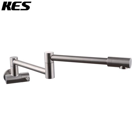 Articulating Kitchen Faucet kes lead free articulating kitchen faucet sus 304