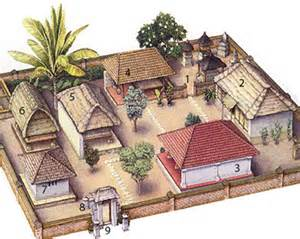 Family Compound House Plans by Balinese Compound Bali Tours
