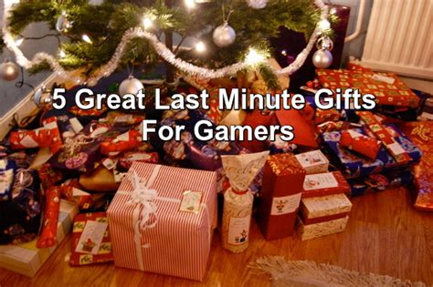 five great last minute christmas gifts for the gamer in