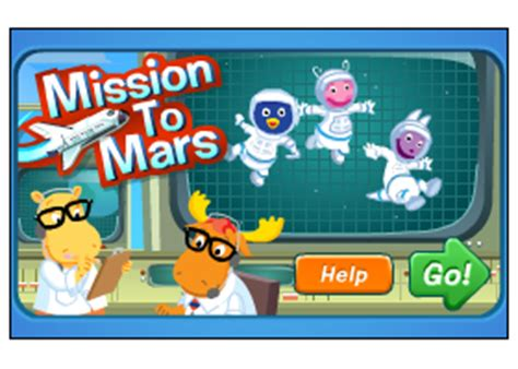 Backyardigans Mission To Mars Welcome To Luigi S On Line Store The Backyardigans
