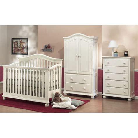 sorelle vista crib white sorelle vista 3 nursery set in white crib