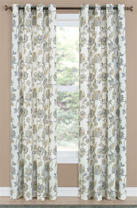 grommet linen curtains colette grommet curtain linen draperies