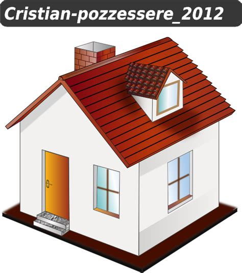 house clipart house icon clip at clker vector clip
