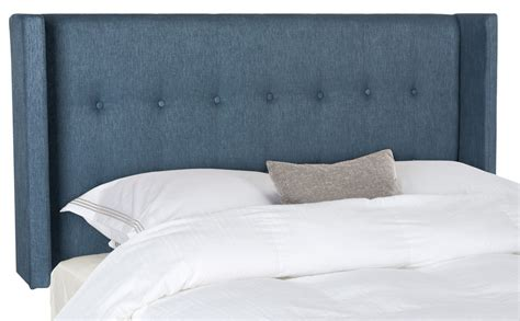 Denim Headboard by Damon Denim Blue Winged Headboard Headboards Furniture