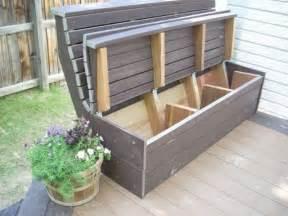 outdoor deck storage bench 20 smart outdoor storage furniture ideas shelterness