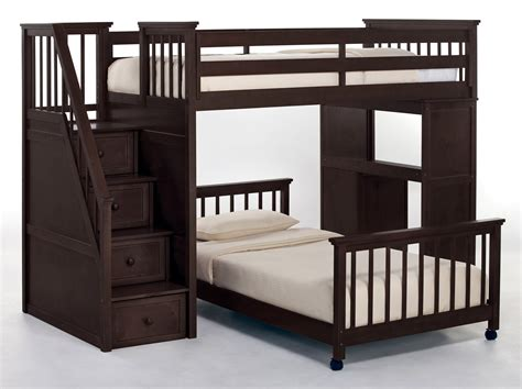 full bunk beds with stairs newsonair org