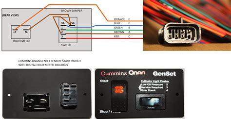 onan generator start stop wiring diagram circuit diagram
