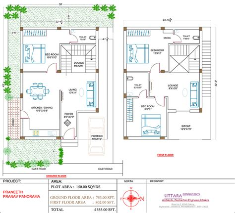 double bedroom independent house plans double bedroom independent house plans home design