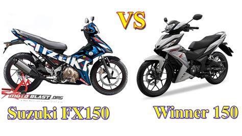 Suzuki Vs Honda Suzuki Fx150 Vs Honda Winner 150 Thảo Luận 2banh Vn