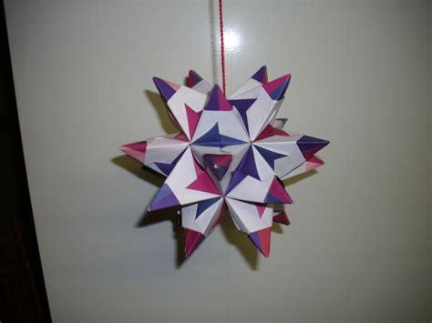 basteln mit gläsern origami sternentstehung wir basteln einen