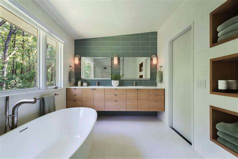Mid Century Bathroom | 37 amazing mid century modern bathrooms to soak your senses