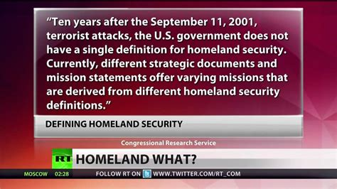 what does homeland security even