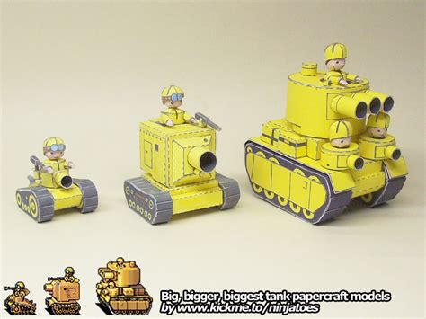 Advance Wars Papercraft - papercraft advance wars tanks by ninjatoespapercraft on