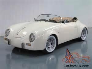 Porsche Speedster Wide Porsche 356 Speedster Convertible Wide Replica
