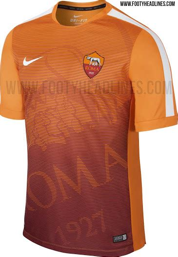 Sweater Kit Prematch Ac Milan nike as roma 2015 pre match shirt revealed footy headlines