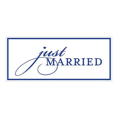 Wedding Car License by Just Married License Plate Weddingstar