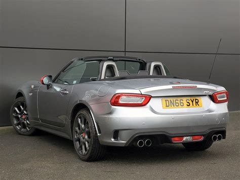used 2016 abarth 124 spider 1 4 multiair spider roadster