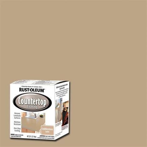 Rust Oleum Countertop Coating Review by Rust Oleum Specialty 1 Qt Cobblestone Premix Countertop