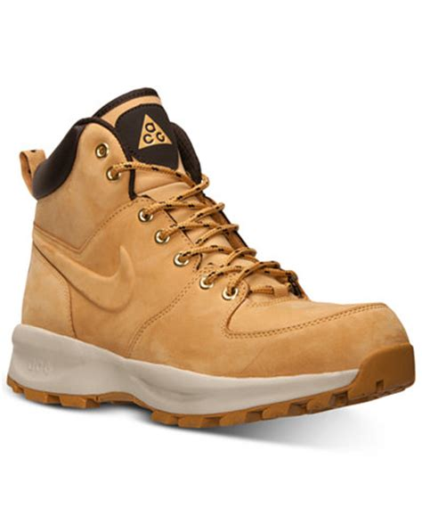 nike s manoa leather boots from finish line finish
