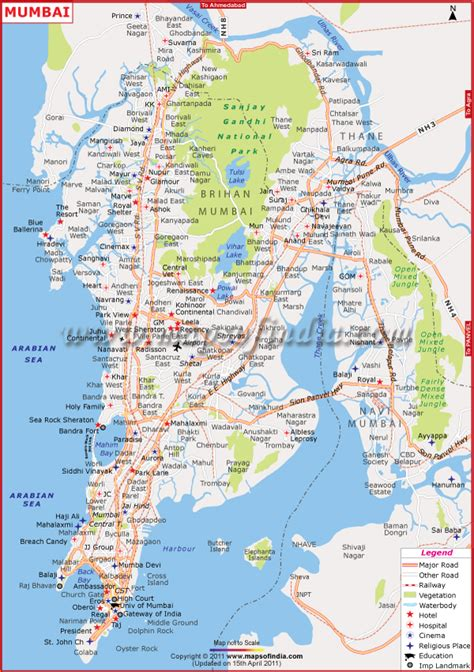 mumbai map www mappi net maps of cities bombay mumbai