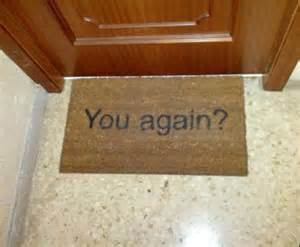 Fun Welcome Mat by Welcome Mat Funny Pictures Quotes Memes Jokes
