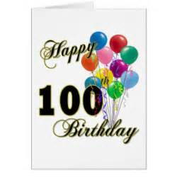 100th birthday gifts on zazzle