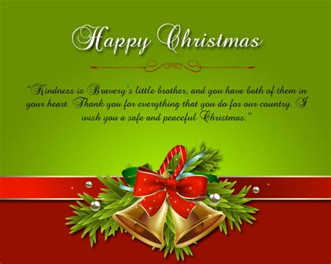 merry christmas wishes for soldiers wordings and messages